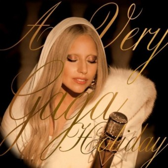 lady gaga-white christmas